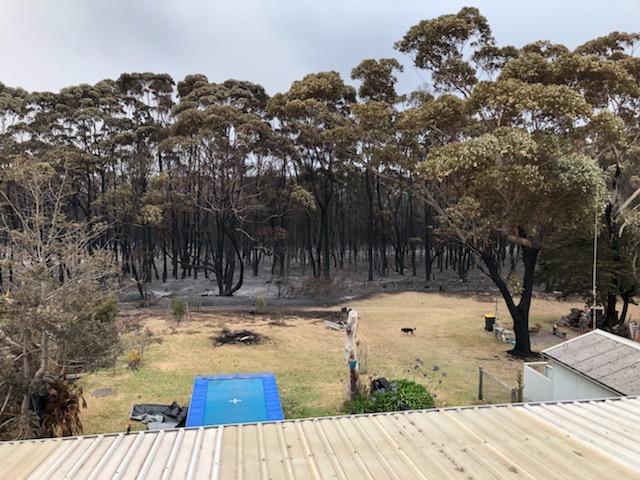 Bushfire in Manyana